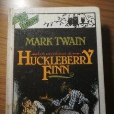 Libros de segunda mano: LAS AVENTURAS DE HUCKLEBERRY FINN ANAYA TUS LIBROS COLECCION SATIRICOS 1985. Lote 183596201