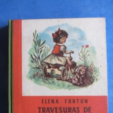 Libros de segunda mano: TRAVESURAS DE MATONKIKI. ELENA FORTUN. AGUILAR EDITOR MADRID. SIN FECHA, PERO AÑOS 40-50. Lote 183708726