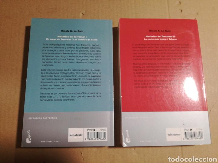 Libros de segunda mano: Historias de terramar I y II Úrsula K. Le Guin - Foto 2 - 183878122