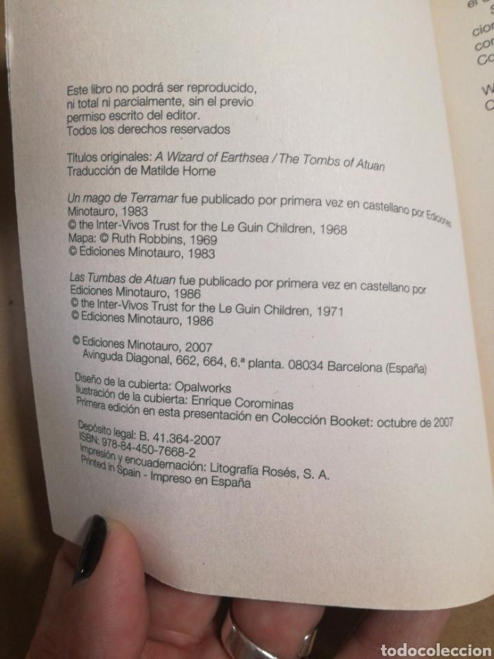 Libros de segunda mano: Historias de terramar I y II Úrsula K. Le Guin - Foto 3 - 183878122