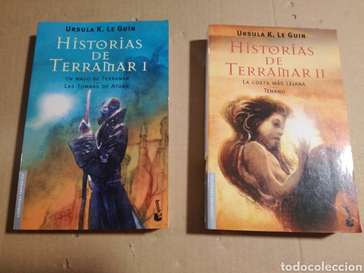 HISTORIAS DE TERRAMAR I Y II ÚRSULA K. LE GUIN (Libros de Segunda Mano - Literatura Infantil y Juvenil - Novela)