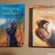 Libros de segunda mano: HISTORIAS DE TERRAMAR I Y II ÚRSULA K. LE GUIN. Lote 183878122