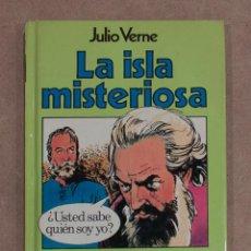 Libros de segunda mano: LA ISLA MISTERIOSA. JULIO VERNE. COLECCION HISTORIAS Nº 26. BIBLIOTECA VERDE. BRUGUERA.. Lote 184257563