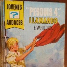 Libros de segunda mano: PESQUIS 4, LLAMANDO – E. W. HILDICK (ED. TORAY, 1972) /// LOS CINCO 5 ENID BLYTON TOM SAWYER CROMOS . Lote 184863438