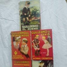 Libros de segunda mano: EDITORIAL MOLINO SERIE GUILLERMO. Lote 185725895