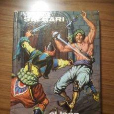 Libros de segunda mano: EMILIO SALGARI EL LEON DE DAMASCO Nº12 EDITORIAL GAHE 1969. Lote 186463996