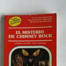 Libros de segunda mano: EL MISTERIO DE CHIMNEY ROCK ELIGE TU PROPIA AVENTURA. Lote 187531466