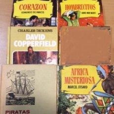 Libros de segunda mano: LOTE 5 LIBROS COLECCIÓN HISTORIAS SELECCIÓN BRUGUERA. Lote 186087127