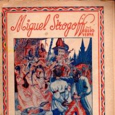 Libros de segunda mano: JULIO VERNE . MIGUEL STROGOFF - DOS CUADERNOS (SAENZ DE JUBERA). Lote 189168828
