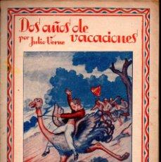 Libros de segunda mano: JULIO VERNE . DOS AÑOS DE VACACIONES - CUATRO CUADERNOS (SAENZ DE JUBERA). Lote 189169121