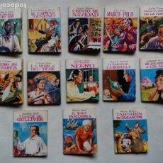 Libros de segunda mano: LOTE DE 13 TÍTULOS DE LA MINIBIBLIOTECA DE LA LITERATURA UNIVERSAL. ESPAÑA 1982-1983. . Lote 189484443