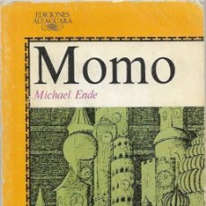 Libros de segunda mano: MICHAEL ENDE MOMO MADRID 1986 EDICIONES ALFAGUARA. Lote 189757508