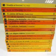 Libros de segunda mano: BARCO DE VAPOR. A PARTIR DE 9 AÑOS. LOTE DE 17 LIBROS. VER TÍTULOS EN FOTOGRAFIAS. Lote 191056660