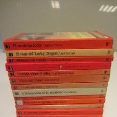 Libros de segunda mano: BARCO DE VAPOR. A PARTIR DE 12 AÑOS. LOTE DE 16 LIBROS. VER TÍTULOS EN FOTOGRAFIAS. Lote 191059521