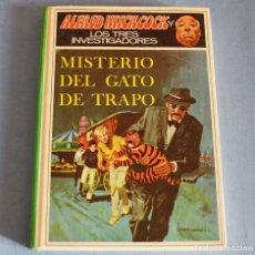 Libros de segunda mano: MISTERIO DEL GATO DE TRAPO - ALFRED HITCHCOCK Y LOS TRES INVESTIGADORES - ED. MOLINO. Lote 191210927