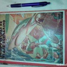 Libros de segunda mano: 20000 LEGUAS DE VIAJE SUBMARINO, JULIO VERNE, 1942. Lote 192184980