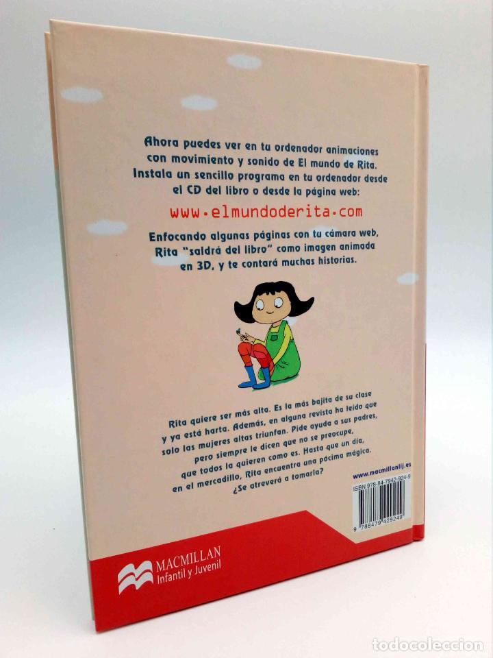 Libros de segunda mano: EL MUNDO DE RITA REALIDAD AUMENTADA 3D 2. GIGANTE (Mikel Valverde) Macmillan, 2011. CON CD. OFRT - Foto 2 - 192250047