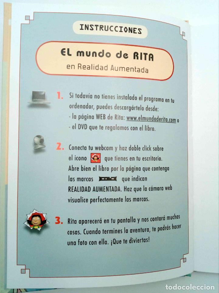 Libros de segunda mano: EL MUNDO DE RITA REALIDAD AUMENTADA 3D 2. GIGANTE (Mikel Valverde) Macmillan, 2011. CON CD. OFRT - Foto 3 - 192250047