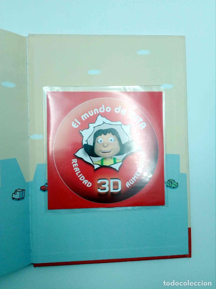 Libros de segunda mano: EL MUNDO DE RITA REALIDAD AUMENTADA 3D 2. GIGANTE (Mikel Valverde) Macmillan, 2011. CON CD. OFRT - Foto 5 - 192250047