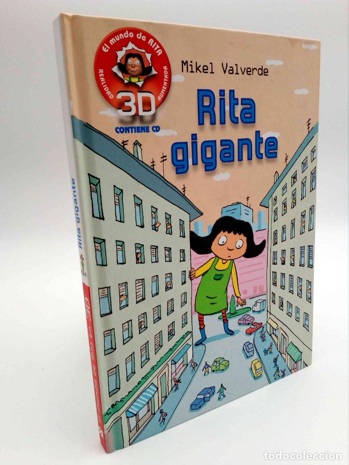 EL MUNDO DE RITA REALIDAD AUMENTADA 3D 2. GIGANTE (MIKEL VALVERDE) MACMILLAN, 2011. CON CD. OFRT (Libros de Segunda Mano - Literatura Infantil y Juvenil - Novela)