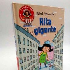 Libros de segunda mano: EL MUNDO DE RITA REALIDAD AUMENTADA 3D 2. GIGANTE (MIKEL VALVERDE) MACMILLAN, 2011. CON CD. OFRT. Lote 192250047