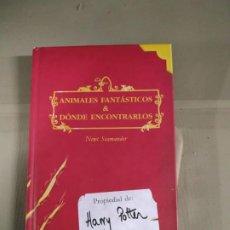 Libros de segunda mano: ANIMALES FANTÁSTICOS & DÓNDE ENCONTRARLOS - NEWT SCAMANDER. PRIMERA EDICIÓN. SALAMANDRA. DIFÍCIL.. Lote 192440427