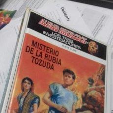 Libros de segunda mano: MISTERIO DE LA RUBIA TOZUDA. LOS TRES INVESTIGADORES. 5. NUEVA ETAPA. Lote 192583678