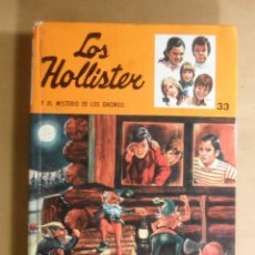 Livres d'occasion: Nº 33 - LOS HOLLISTER Y EL MISTERIO DE LOS GNOMOS - JERRY WEST - TORAY - 1973. Lote 192734412