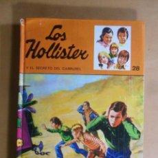 Livres d'occasion: Nº 28 - LOS HOLLISTER Y EL SECRETO DEL CARRUSEL - JERRY WEST - TORAY - 1979. Lote 192735117