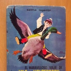 Libri di seconda mano: EL MARAVILLOSO VIAJE DE NILS HOLGERSSON A TRAVES DE SUECIA / SELMA LAGERLÖF / 1968. LABOR. Lote 192861938