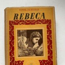 Libros de segunda mano: REBECA . Lote 193816288