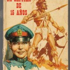 Libros de segunda mano: UN CAPITAN DE 15 AÑOS. COLECCIÓN CRIS. EDITORIAL FHER, 1976. (ST/MG/BL3). Lote 194531551