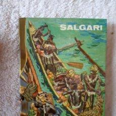 Libros de segunda mano: NOVELA EL ESTRECHO DE TORRES SALGARI GAHE 49 PERFECTO ESTADO. Lote 194728446