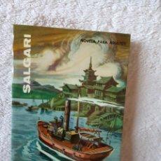Libros de segunda mano: NOVELA LA SOBERANA DEL CAMPO DE ORO SALGARI GAHE 45 PERFECTO ESTADO. Lote 194729331