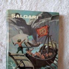Libros de segunda mano: NOVELA LA PERLA DEL RIO ROJO SALGARI GAHE 35. Lote 194729523