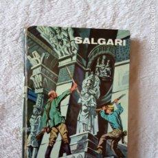 Libros de segunda mano: NOVELA LA CIUDAD DEL REY LEPROSO SALGARI GAHE 29. Lote 194730011