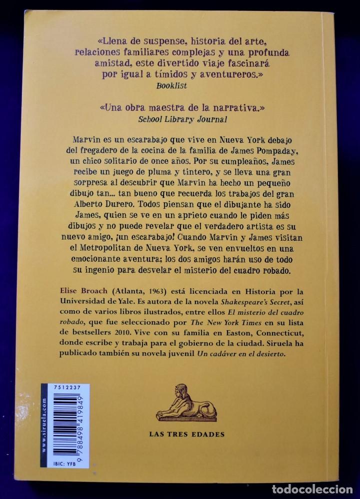 Libros de segunda mano: El misterio del cuadro robado. La gran aventura de Marvin y James. Broach, Elise - Foto 2 - 194776880