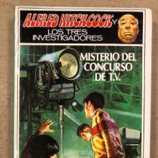 Libros de segunda mano: ALFRED HITCHCOCK Y LOS TRES INVESTIGADORES N° 40. MISTERIO DEL CONCURSO DE T.V. ED. MOLINO 1988. Lote 194777625