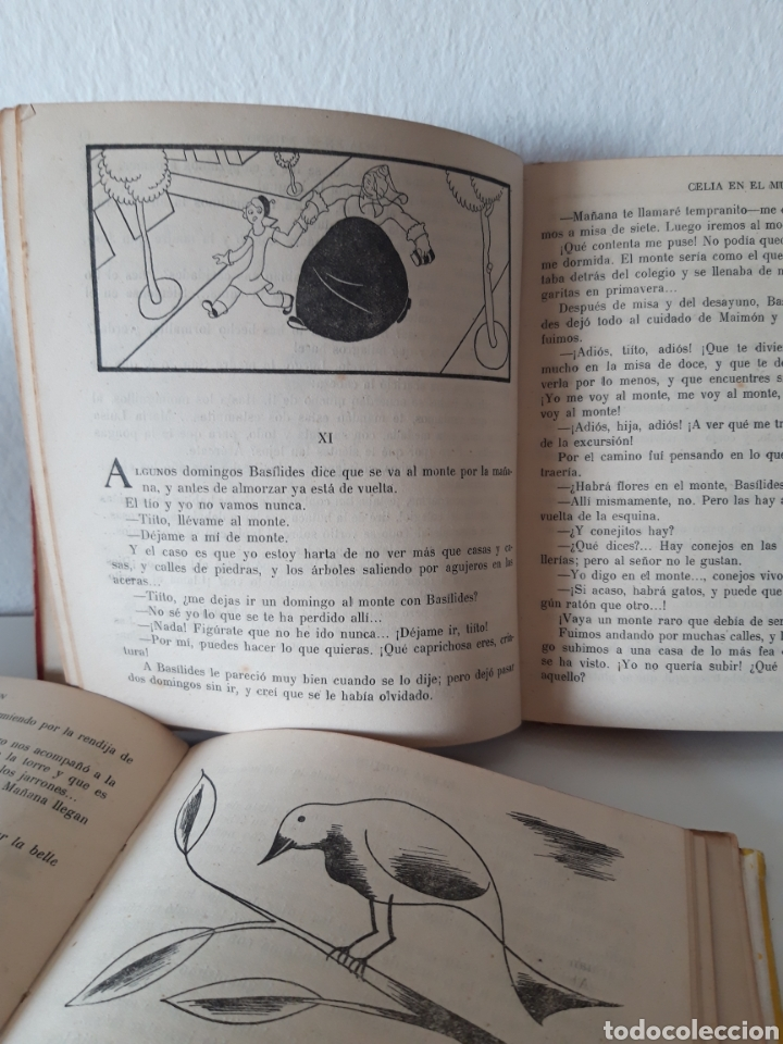 Libros de segunda mano: ELENA FORTÚN. CELIA EN EL MUNDO Y CELIA Y SUS AMIGOS. ED. AGUILAR 1943. DE REGALO, ANY ES FANTÁSTICA - Foto 6 - 194914446