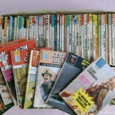 Libros de segunda mano: LOTE DE 69 NOVELAS ( VER FOTOS ). Lote 194943080