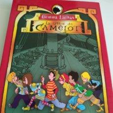 Libros de segunda mano: LA TRIBU DE CAMELOT CARLOTA Y EL MISTERIO DEL BOTÍN PIRATA GEMMA LIENAS. Lote 194949631