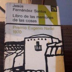 Libros de segunda mano: LIBRO DE LAS MEMORIAS DE LAS COSAS. Lote 194978161