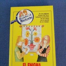 Libros de segunda mano: EL ENIGMA DEL EXTRAÑO TAPIZ Y SIETE CASOS MÁS. EDITORIAL TIMUN MÁS. AÑO 1988. Lote 195025513