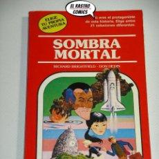 Libros de segunda mano: ELIGE TU PROPIA AVENTURA, Nº 33, SOMBRA MORTAL, TIMUN MAS, C4. Lote 195373168
