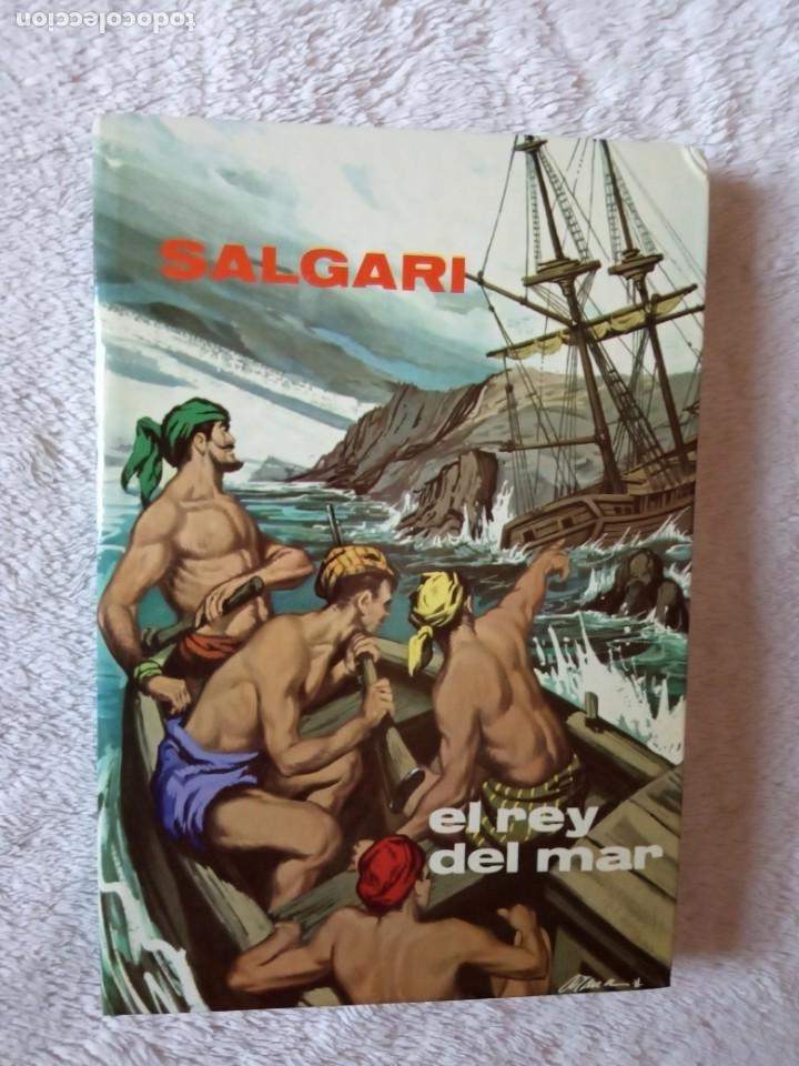 NOVELA EL REY DEL MAR SALGARI GAHE 6 PERFECTO ESTADO (Libros de Segunda Mano - Literatura Infantil y Juvenil - Novela)