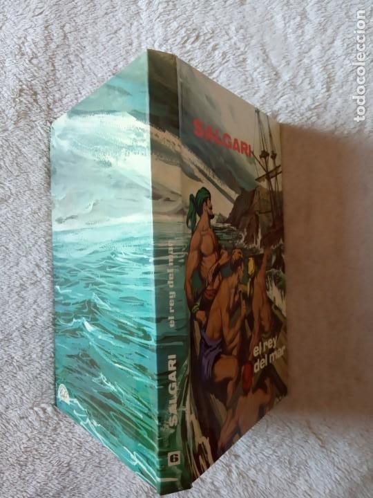 Libros de segunda mano: NOVELA EL REY DEL MAR SALGARI GAHE 6 PERFECTO ESTADO - Foto 2 - 195542897