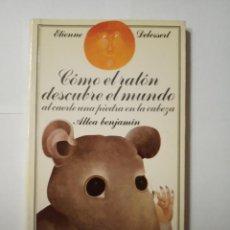 Libros de segunda mano: LIBRO COMO EL RATON DESCUBRE EL MUNDO AL CAERLE UNA PIEDRA EN LA CABEZA ETIENNE DELESSERT. Lote 196110088