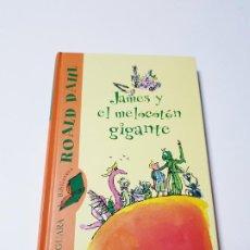 Libri di seconda mano: LIBRO-JAMES Y EL MELOCOTÓN GIGANTE-ROALD DAHL-2ªEDICIÓN 2005-ALFAGUARA-PASTA DURA-NUEVO. Lote 196126327