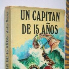 Libros de segunda mano: UN CAPITÁN DE 15 AÑOS (JULIO VERNE) * LIBRO AVENTURAS *** ED. PETRONIO (1974). Lote 196157440