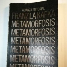 Libros de segunda mano: LA METAMORFOSIS. FRANZ KAFKA. Lote 196254715